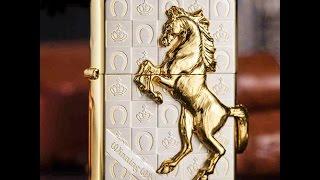 Bật lửa zippo Z18 chính hãng khắc nổi con ngựa | Deva.vn | Giá 4.500.000 Đ