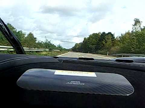 Koenigsegg CCXR live in Aktion auf der Autobahn! Über 1000 PS bei der Arbeit!