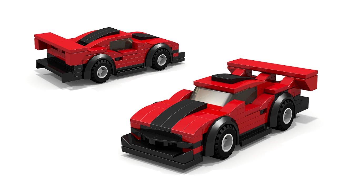 Lego Pikes Peak Race Car Building Instructions Youtube