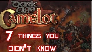 7 Things You Didn't Know About DAoC - Dark Age of Camelot - Uthgard