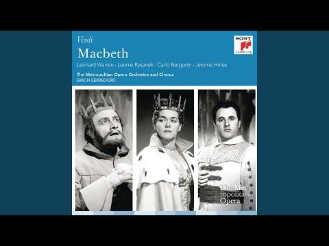Macbeth: Act IV: Perfidi! All' Anglo Contro Me V'unite