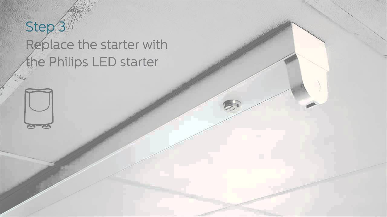 philips master ledtube installation guide based on electro magnetic ballast youtube [ 1280 x 720 Pixel ]