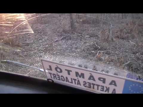 Hegymenet, lejtmenet Zolcsival (UAZ 452)