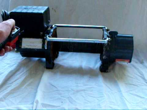 CHICAGO ELECTRIC WINCH - YouTube