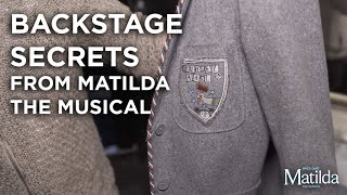 Backstage Secrets #2 - Crunchem Hall Blazers | Matilda The Musical