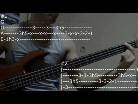 Michael Jackosn - Get on the floor[bass lesson]