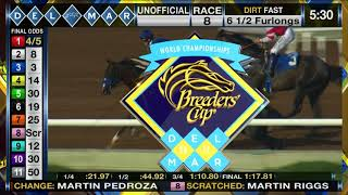 St Patrick's Day Wins Race 8 at Del mar 09/02/17