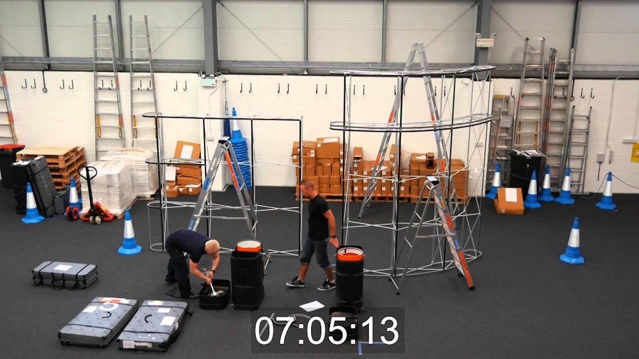 Exhibition Stand Installation : Ukchanges m exhibition stand installation in
