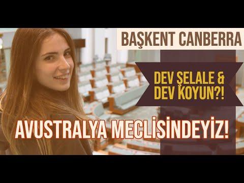 AVUSTRALYA'NIN BAŞKENTİ CANBERRA'DAYIZ! | MECLİS | DEV ŞELALE & DEV KOYUN