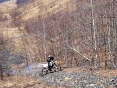 ktm 125sx tries hillclimb in mcadoo pa again - youtube