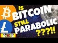 🚀BITCOIN STILL PARABOLIC??!!🚀 bitcoin litecoin price prediction, btc ltc news, trading