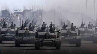 Как проходят военные парады в разных странах