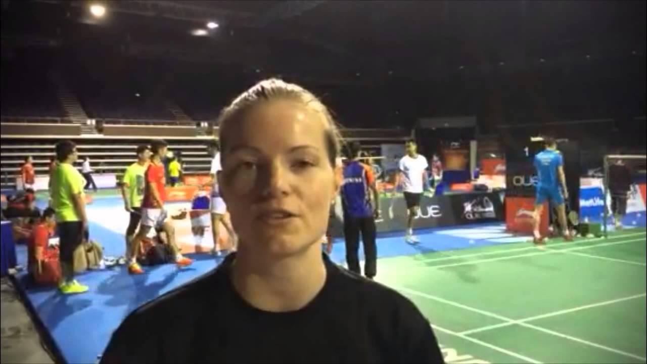 Christinna Pedersen on the European Player Awards