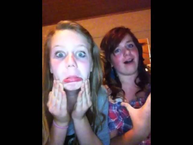 De twee meisjes :d