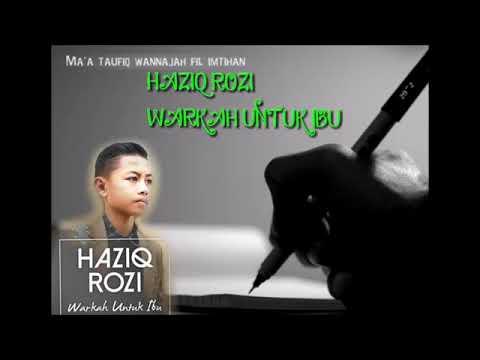 Warkah untuk ibu Amirul Haziq rozi