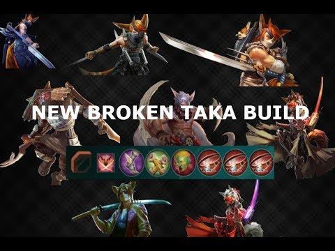 NEW BROKEN TAKA BUILD! Vainglory 5v5