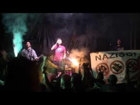 Los Fastidios - Antifa Hooligans (Hey Ho! Ramona Fest 2017 Trzciel, PL) [HD]
