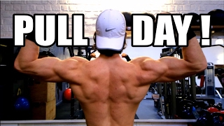 DOS, BICEPS, ÉPAULES : PULL DAY WORKOUT !