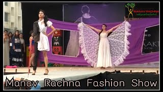Manav Rachna | Fashion show | Manav Rachna International University | 2016 | October Fest |