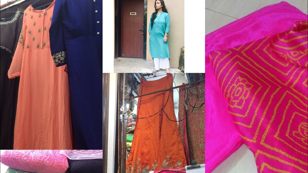 Designer Clothes For Cheap Prices | Ethnic Indian Wear Market In Mumbai Shop Designer Wear Cheapest