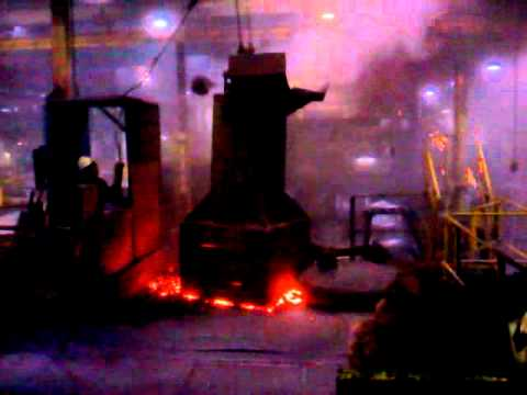Iron foundry. I love my job!!!