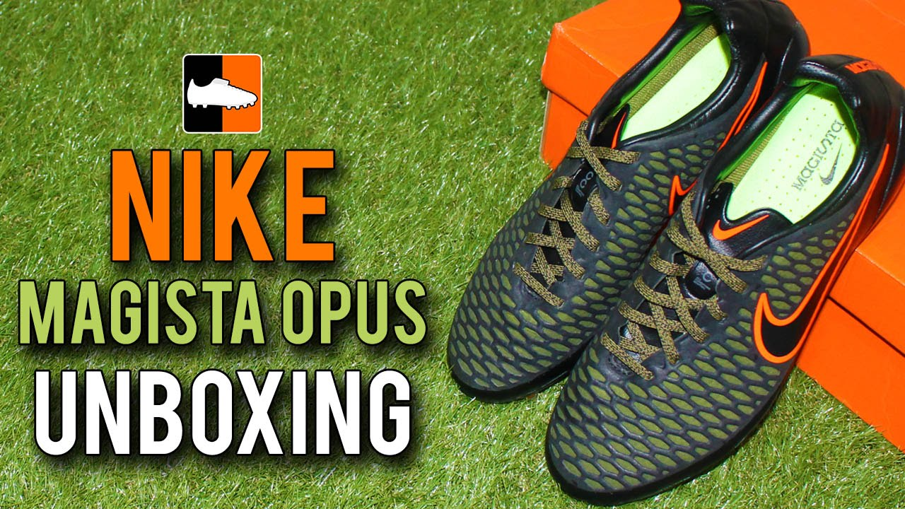 f45f9e9b843539 Nike Magista Opus Reveal + Unboxing - Black Green Edition. Football Boots