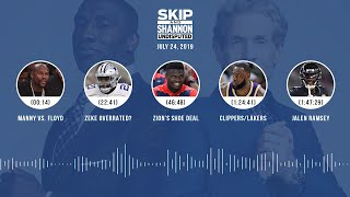 UNDISPUTED Audio Podcast (07.24.19) with Skip Bayless, Shannon Sharpe & Jenny Taft | UNDISPUTED