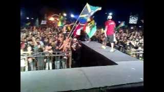 D'JMBE LOMBOK ISLAND,. Vespa Never Die @No Coment Music Festival 19-01-2013.mp4