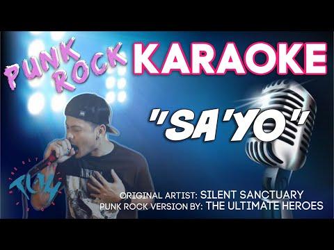 SA'YO - Silent Sanctuary | KARAOKE/Instrumental (TUH Style)