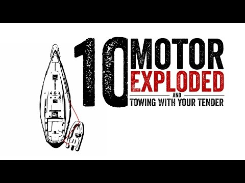 Escape 10 The Motor Exploded - Towing with your Tender