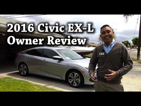 2016 Honda Civic EX-L sedan Owner Review 1 month