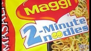 MAGGI NOODLES- How To Prepare Maggi In Less Than 2 Minutes