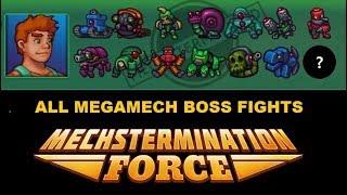 Mechstermination Force: All MegaMech Boss Fights