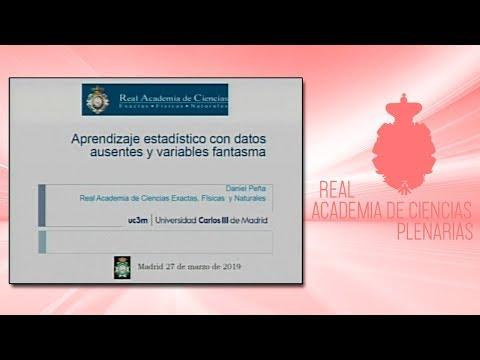 Conferencia Plenaria impartida por Daniel Peña Sánchez de Rivera el  27 de marzo de 2019.▶ Suscríbete a nuestro canal de YouTubeRAC: https://www.youtube.com/RealAcademiadeCienciasExactasFísicasNaturales?sub_confirmation=1http://www.rac.eshttps://twi