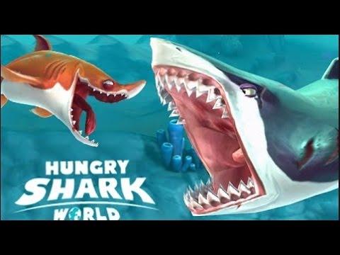 Hungry Shark World - Становимся злобной акулой на Android