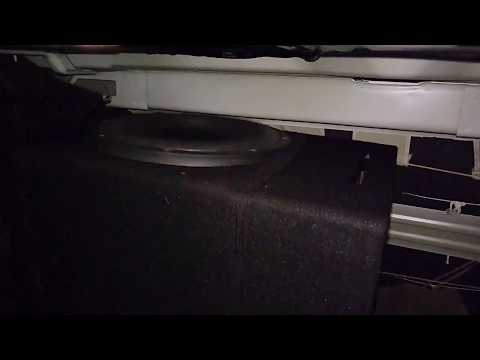 Slow motion moves by Autobahn custom made 1000W RMS subwoofer powered by DD M2B monoblock amplifier