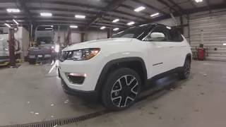 2018 White Jeep Compass Limited SJ6336 Motor Inn Auto Group