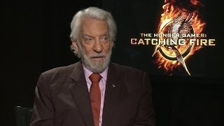 Donald Sutherland talks to TODAY about The Hunger Games: Catching Fire