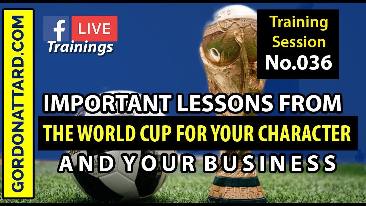 ⚽️ Important Lessons From The World Cup 2018
