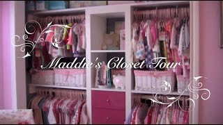 Maddie's Closet Tour! ~featuring The Ikea Expedit Shelves~