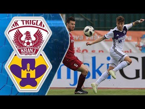 26. krog: Triglav - Maribor 0:5 ; Prva liga Telekom Slovenije 2017/2018