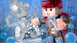 Minecraft | Create Anything Challenge - Kraken! (Atlantis Roleplay)