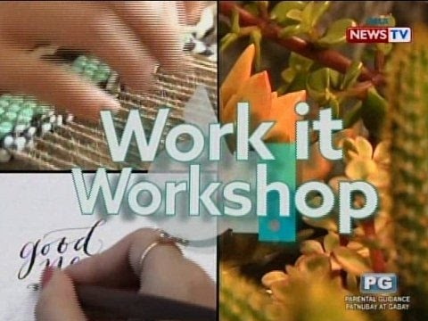 Good News: Work it Workshop!