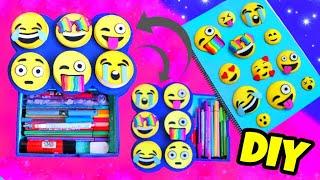 DIY EMOJI SCHOOL SUPPLIES 🙃 For Back To School