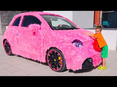 Vlad And Nikita Funny Stories With Cars - Collection Videos For Kids