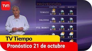 Pronóstico para este sábado 21 de octubre | TV Tiempo