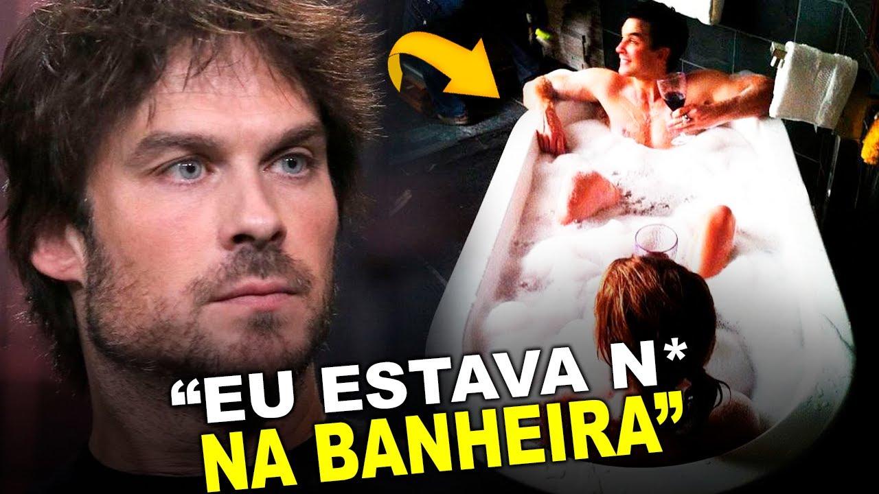 BOMBA! IAN REVELA MOMENTO DE BASTIDOR INUSITADO EM THE VAMPIRE DIARIES
