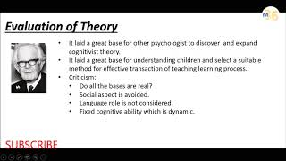 Critical Evaluation of Piaget Cognitive Theory | KVS DSSSB CTET TEACHING