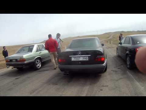 Mercedes E500 vs Audi C2 200