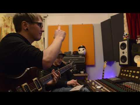 1974 Gibson SG Deluxe Special Ryder Ataxia recording PINUP solo at Essex Recording Studios